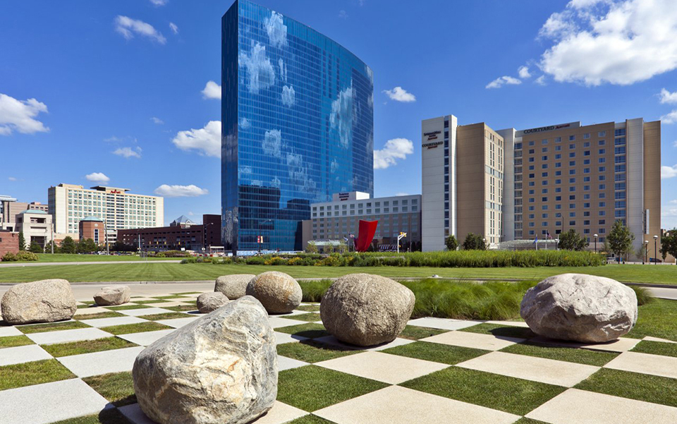 JW Marriott in downtown Indianapolis
