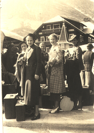 Thetas 1936 Glacier National Park
