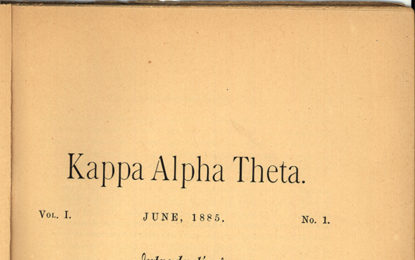 Kappa Alpha Theta Vol. 1 text