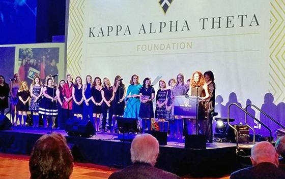 Theta Foundation CASA award 560x353 image