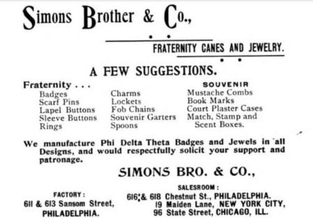 1895 Simons Bro Co