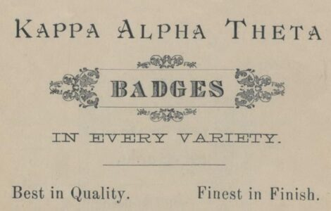 Vintage badge label