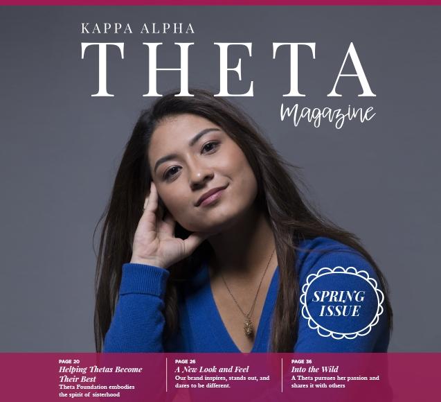 Kappa Alpha Theta Magazine image