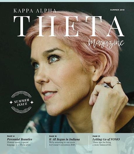 Theta Summer 2019 cover